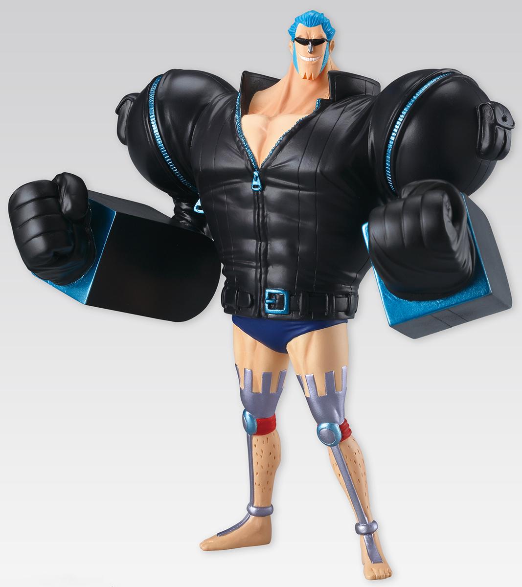 Bandai Фигурка One Piece Super Styling Film Gold Franky фигурка amiibo super smash bros король дидиди