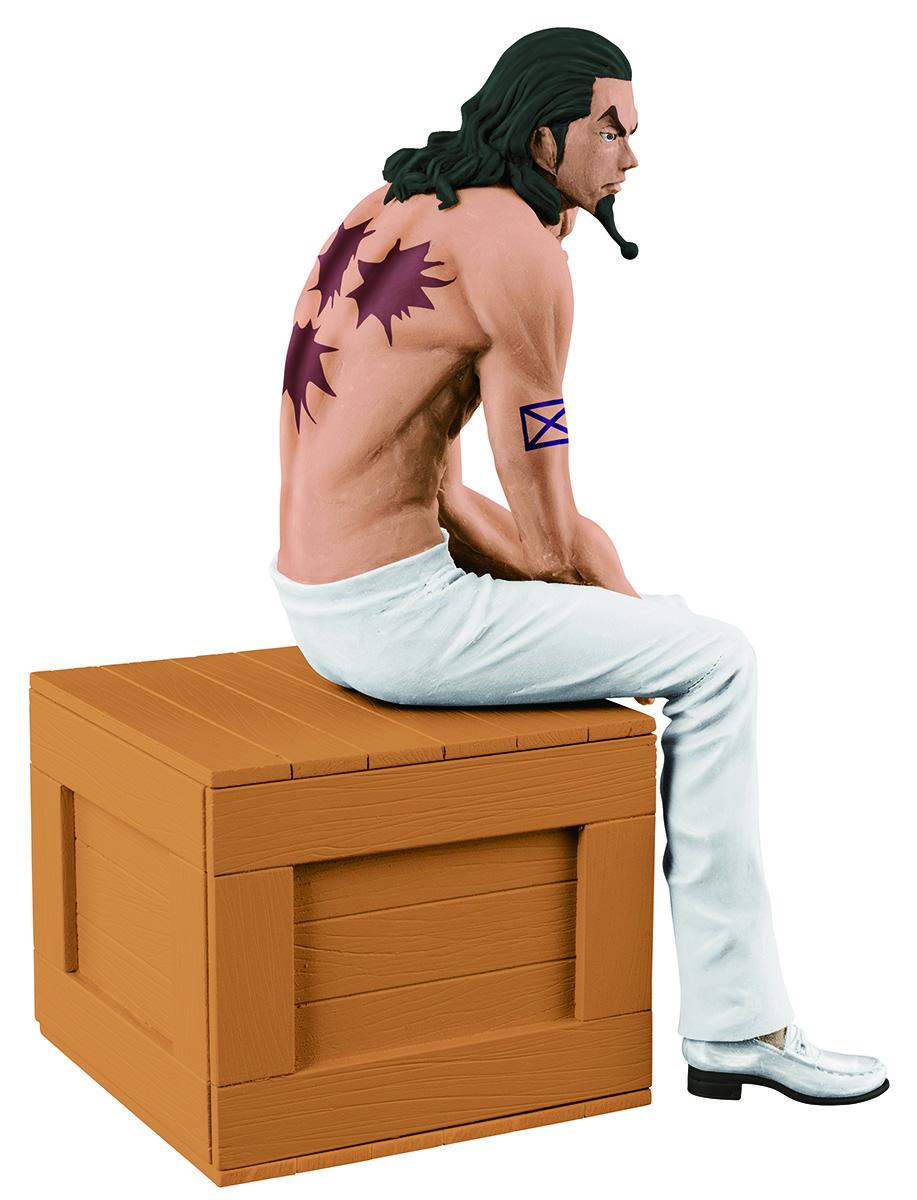 Bandai Фигурка O.P. The Naked Op Calendar Vol.1 Rob Lucci A White Pants Ver. 12 см цена и фото