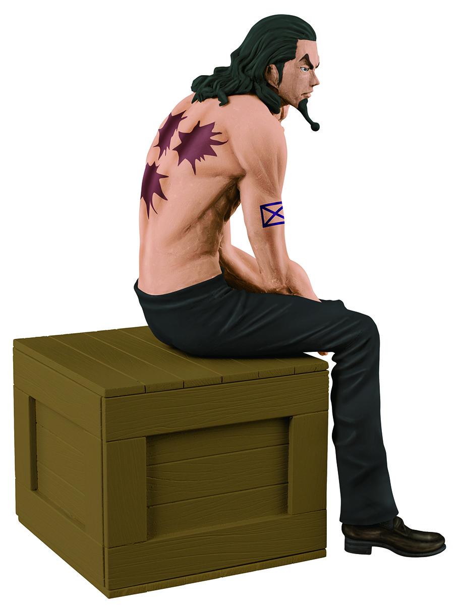 Bandai Фигурка O.P. The Naked Op Calendar Vol.1 Rob Lucci A Black Pants Ver. 12 см цена и фото