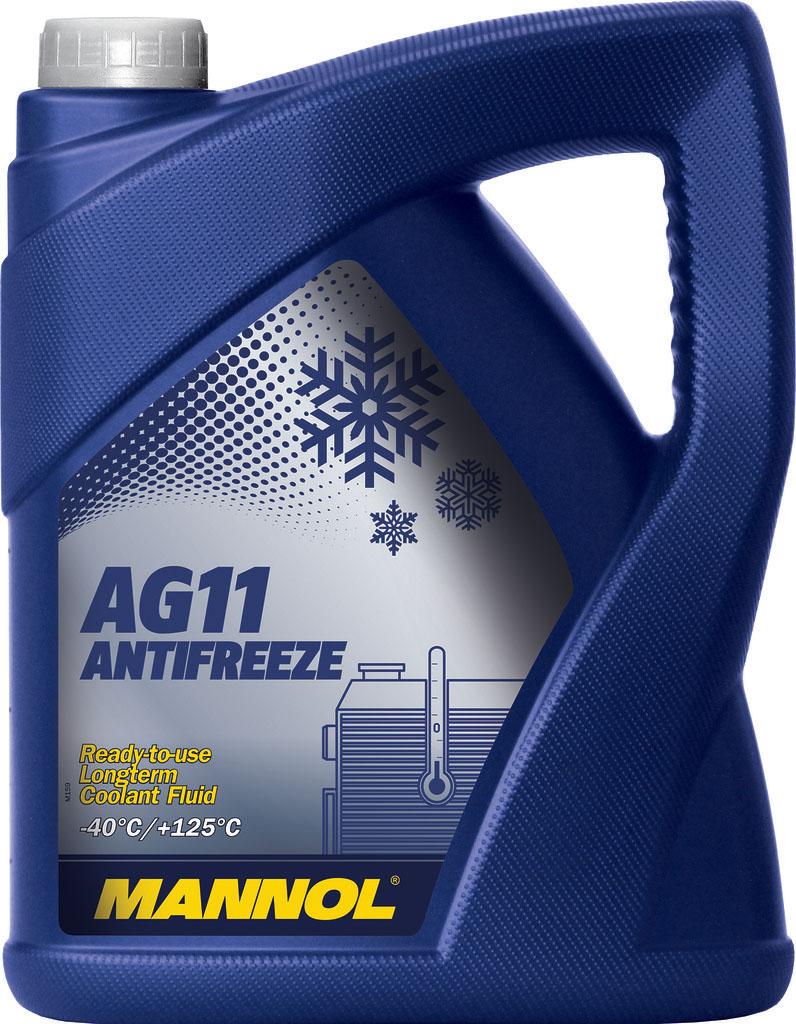 "Антифриз MANNOL ""AG-11 Longterm"", концентрат, 5 л"