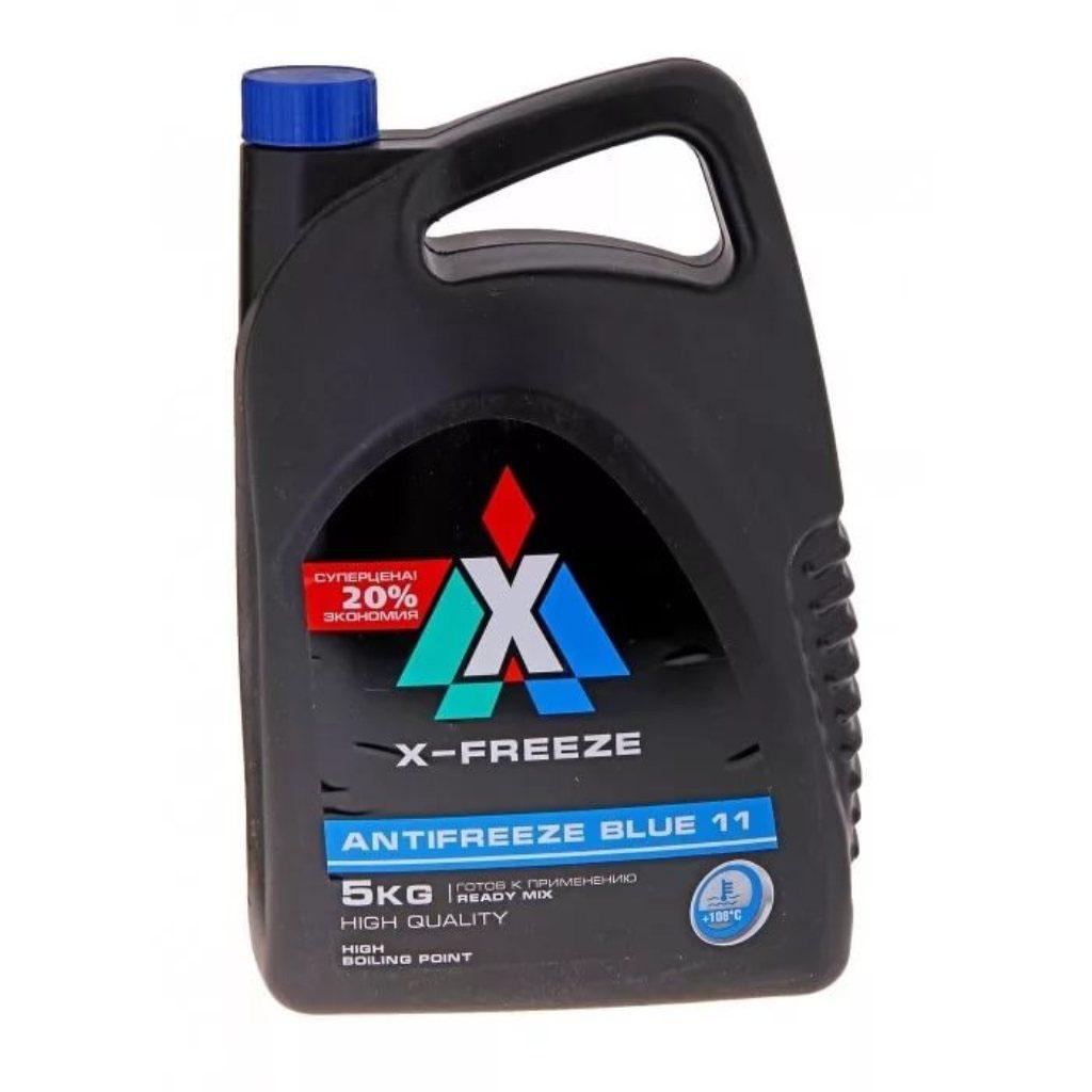 """Антифриз X-Freeze """"Blue"""", 5 л"""