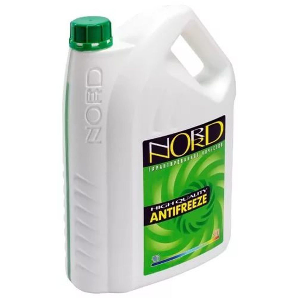 Антифриз Nord, цвет: зеленый, 5 л