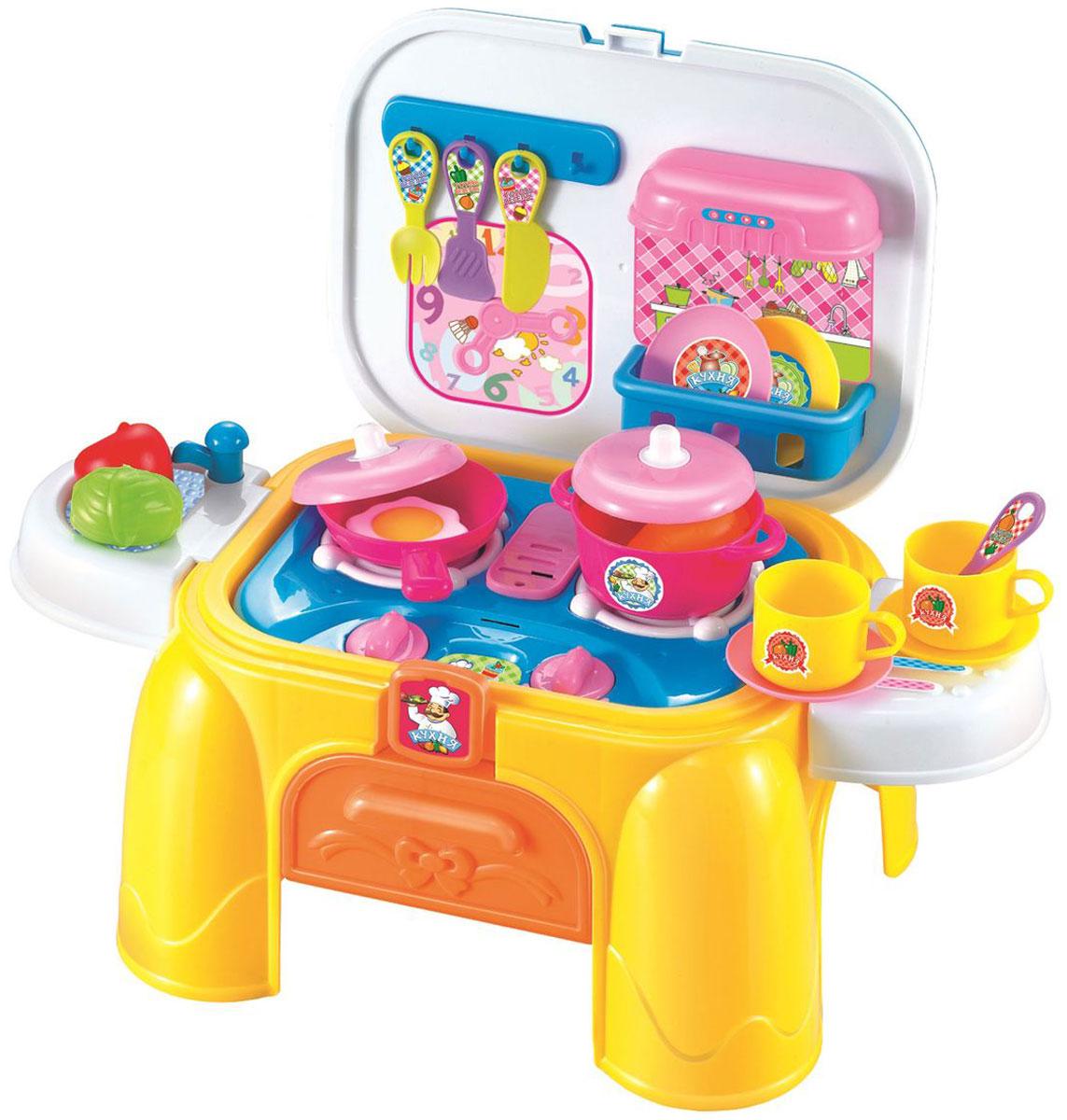 1TOY Игровой набор Профи Кухня 2 в 1 26 предметов 1toy игровой набор профи грумер 16 предметов