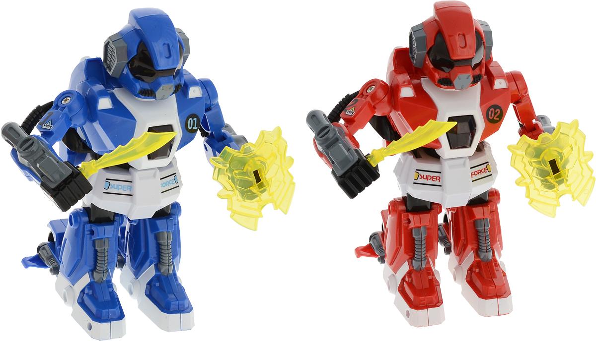 Yako Робот на радиоуправлении цвет красный синий 2 шт Y16462778 фигурка yako dinosaur prak цвет в ассортименте 2 шт y13114568