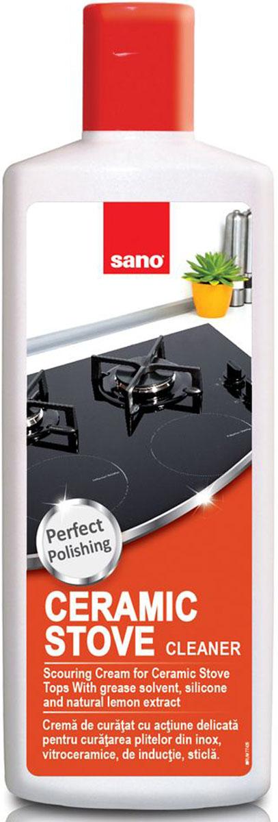 Средство для чистки и ухода за стеклокерамическими плитами Sano Ceramic Stove Tops, 300 мл средство для ухода за стеклокерамическими плитами topperr 3422