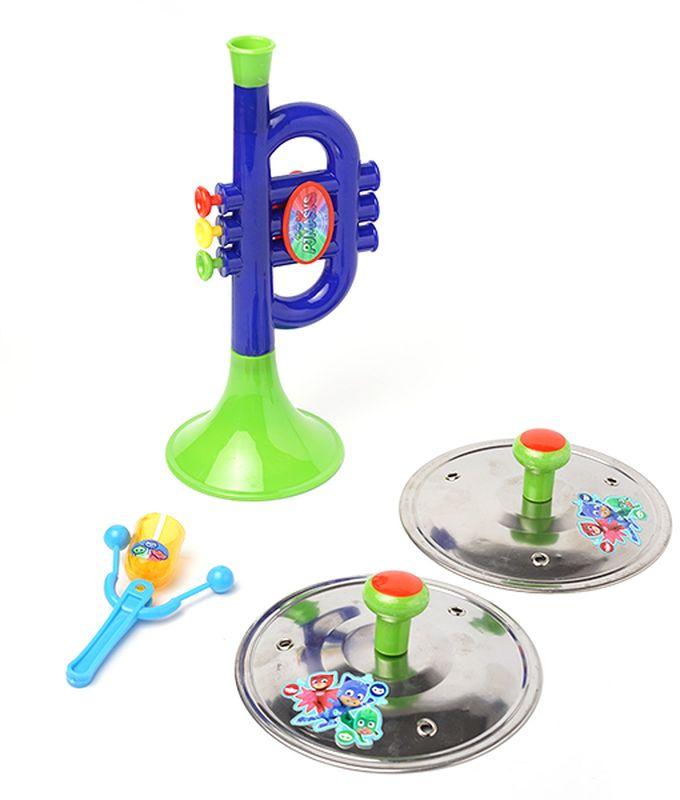 Герои в масках Набор музыкальных инструментов 4 предмета