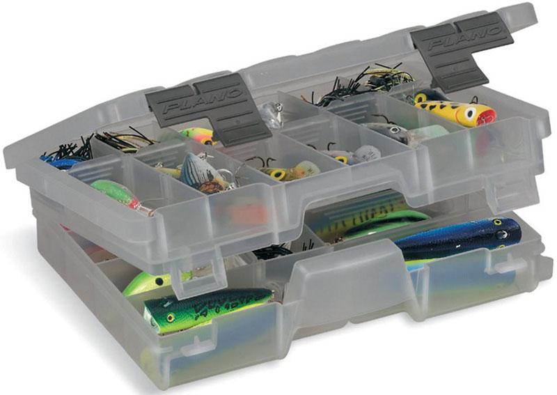 Коробка рыболовная Plano, для приманок, двухуровневая, 13-45 отсеков