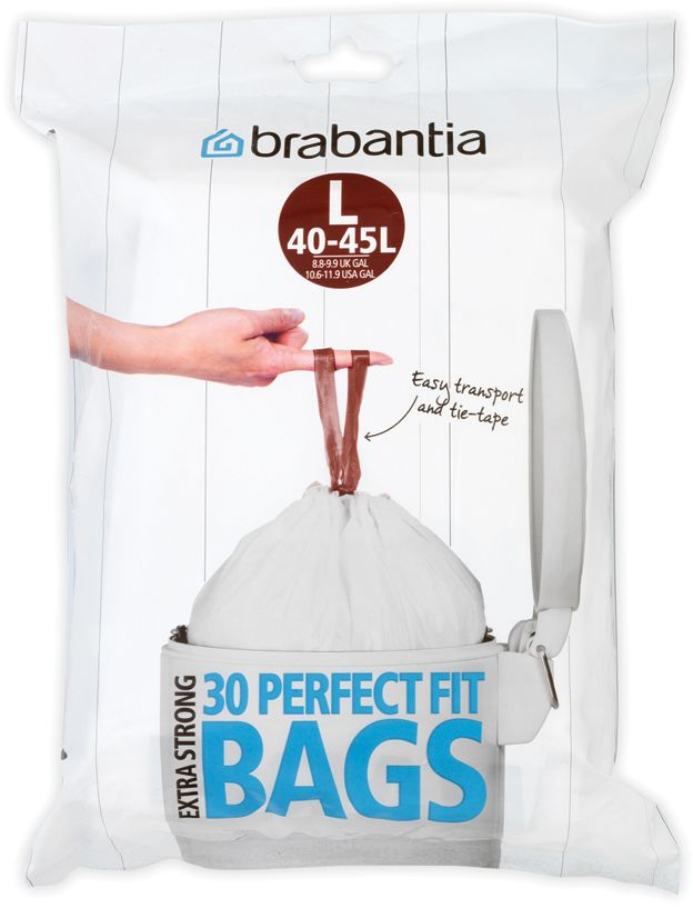 Мешки для мусора Brabantia, 40-45 л, 30 шт. 362163