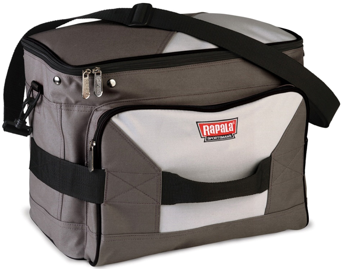 Сумка рыболовная Rapala Sportsman 31 Tackle Bag, цвет: серый