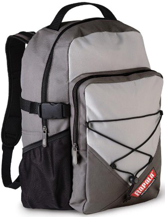Рюкзак для рыбалки Rapala Sportsman 25 Backpack, цвет: серый, 25 л