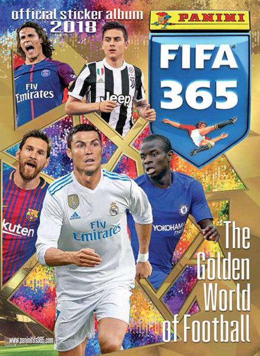 Альбом для наклеек Panini FIFA 365 -2018, 15 наклеек в комплекте альбом для наклеек panini soy luna disney я луна disney 15 наклеек в комплекте
