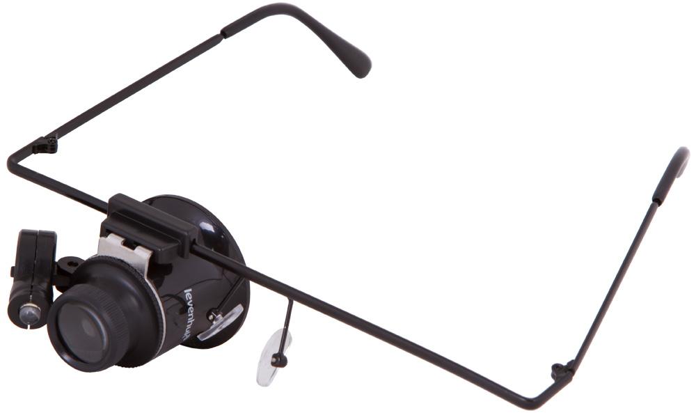 Levenhuk Zeno Vizor G1 лупа-очки