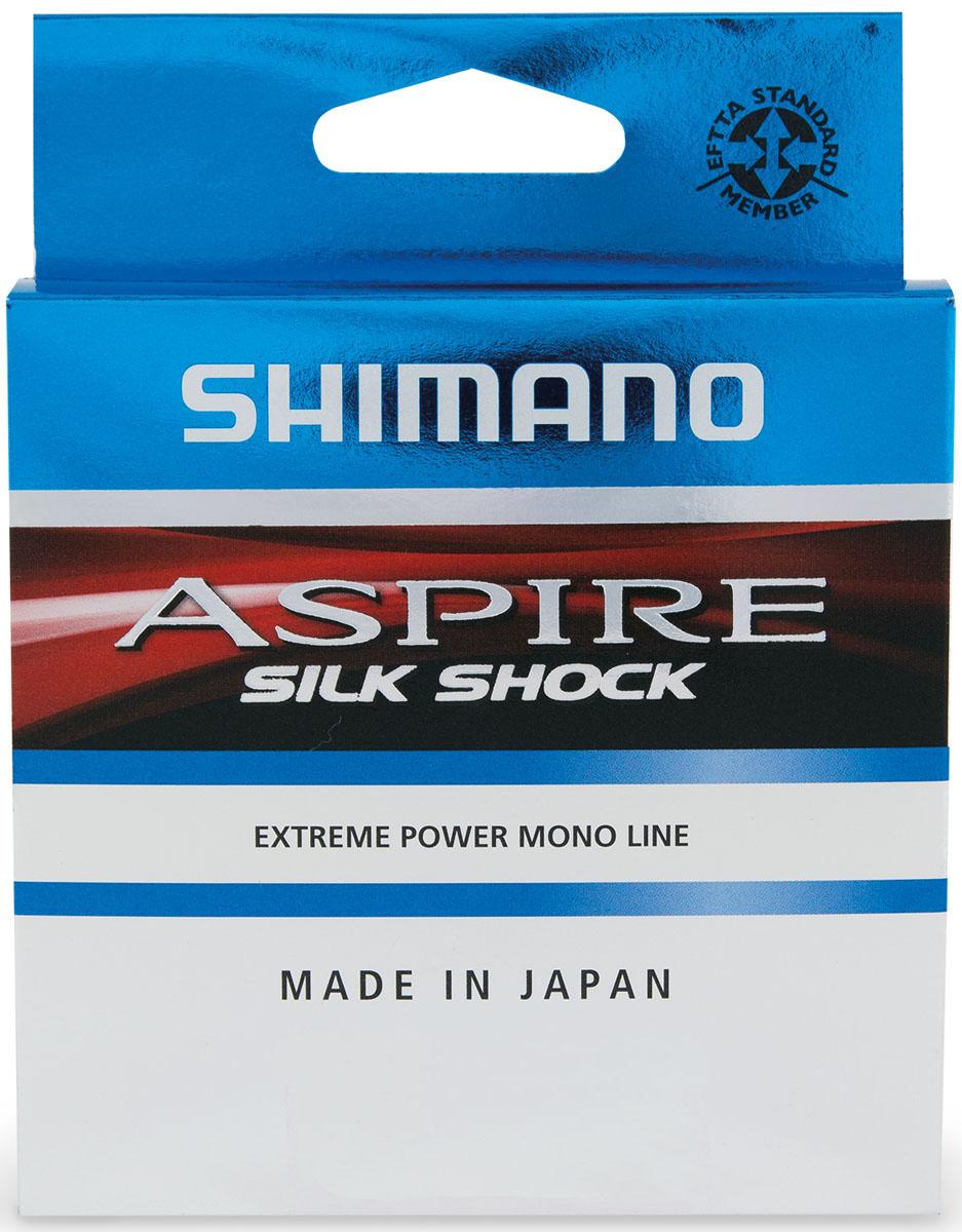 Леска Shimano Aspire Silk Shock, 0,10 мм, 50 м, 1,2 кг