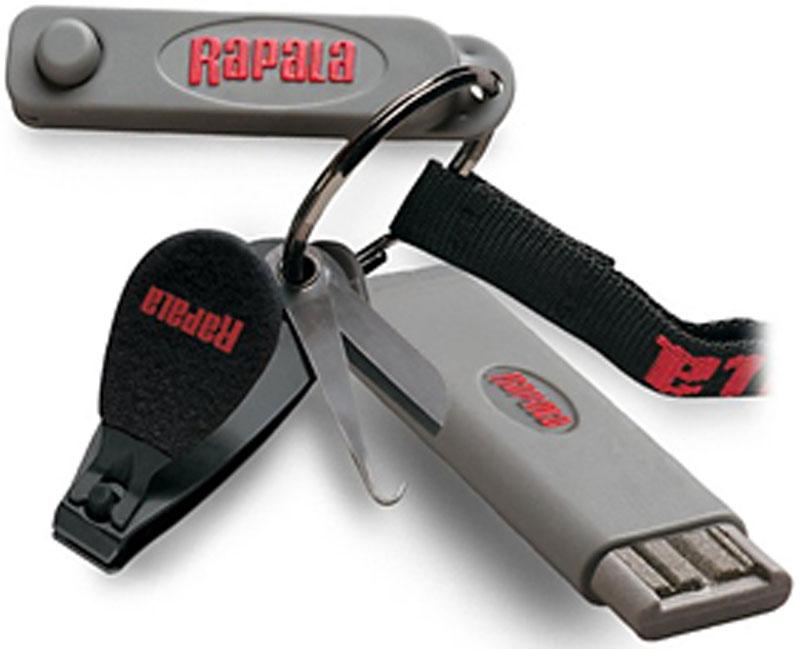 Комбо-набор Rapala, кусачки, точило для крючков точило rapala для крючков