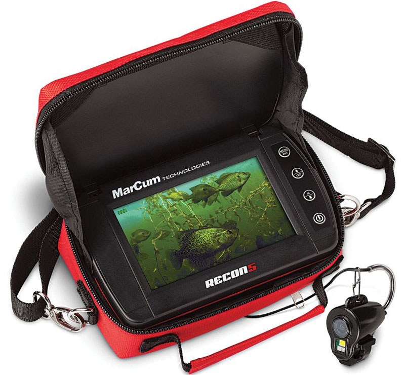Подводная камера MarCum Recon 5 Plus, RC5P, черный подводная камера aqua vu micro plus dvr