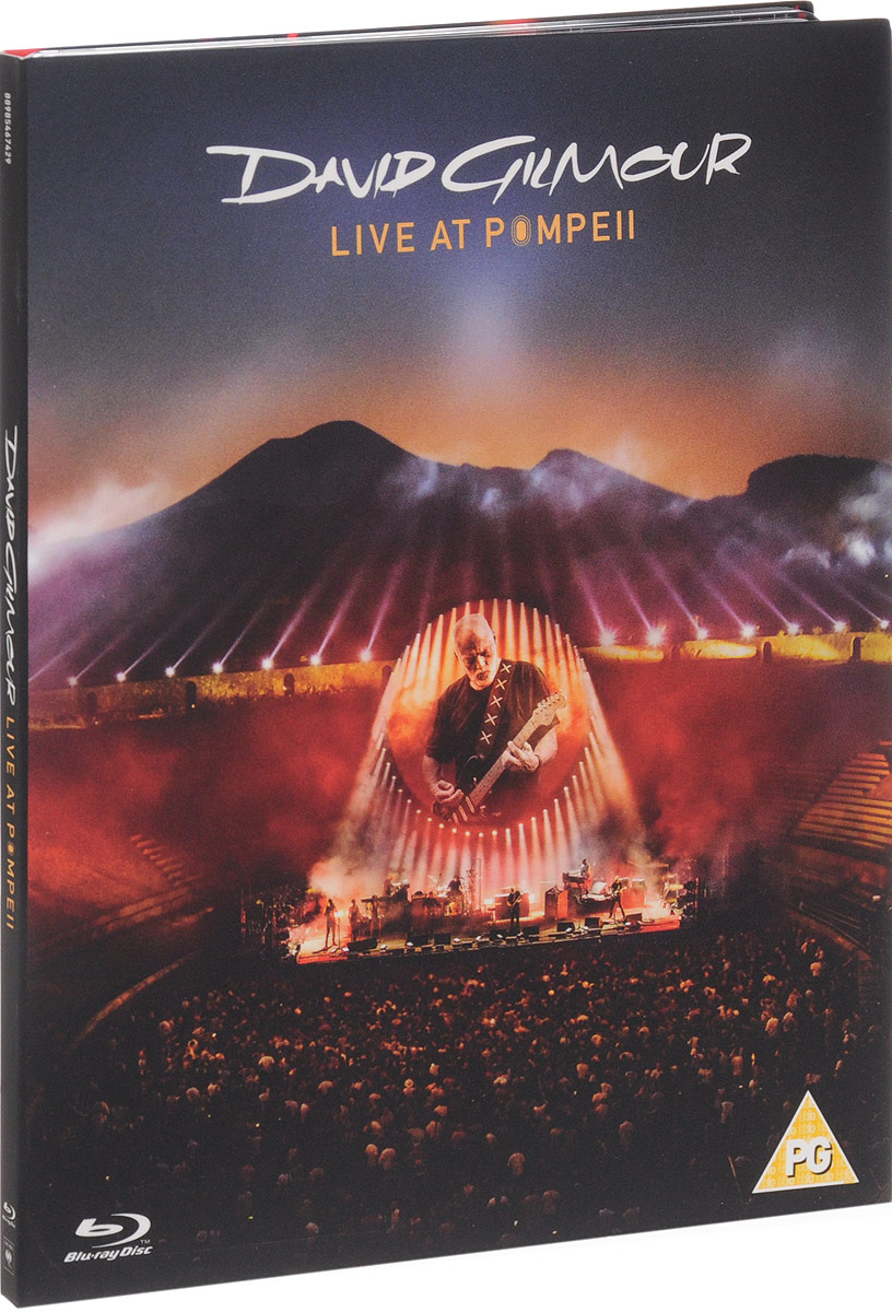 David Gilmour. Live At Pompeii (Blu-ray) blu ray david gilmour live at pompeii