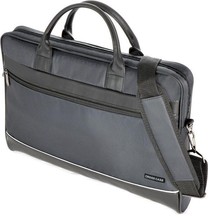 Сумка для ноутбука Cross Case, цвет: черный. CC17-014 аксессуар сумка 17 3 cross case cc17 014 claret