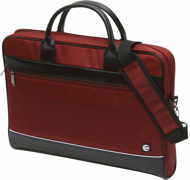 Сумка для ноутбука Cross Case, цвет: бордовый, черный. CC17-014 аксессуар сумка 17 3 cross case cc17 014 claret