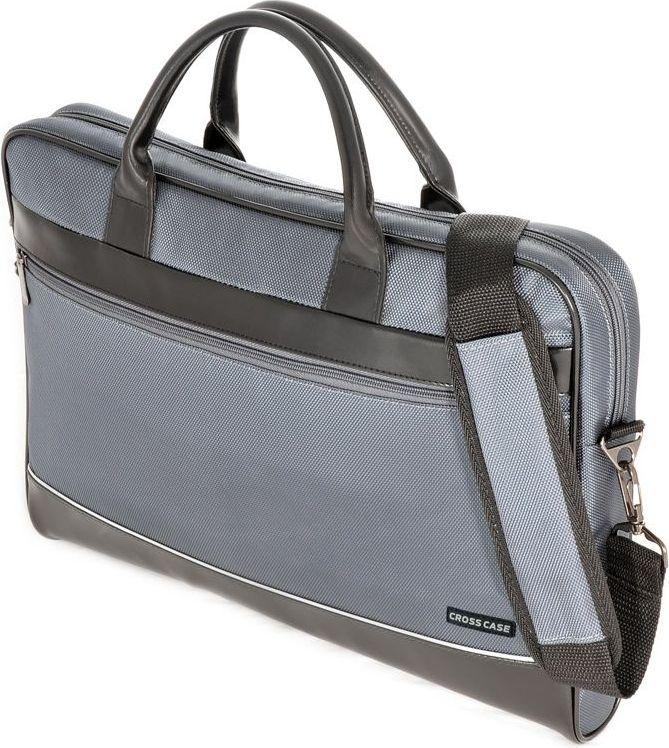 Сумка для ноутбука Cross Case, цвет: серый, ниагара. CC17-014 аксессуар сумка 17 3 cross case cc17 014 claret