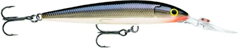 Воблер Rapala, глубоко погружающийся, длина 12 см, вес 15 г. DHJ12-S воблер rapala глубоко погружающийся длина 12 см вес 15 г dhj12 s