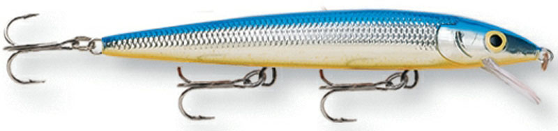 Воблер Rapala, мелко погружающийся, длина 10 см, вес 10 г. HJ10-SB воблер rapala глубоко погружающийся длина 12 см вес 15 г dhj12 s