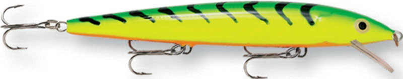 Воблер Rapala, мелко погружающийся, длина 12 см, вес 13 г. HJ12-FT воблер rapala глубоко погружающийся длина 12 см вес 15 г dhj12 s
