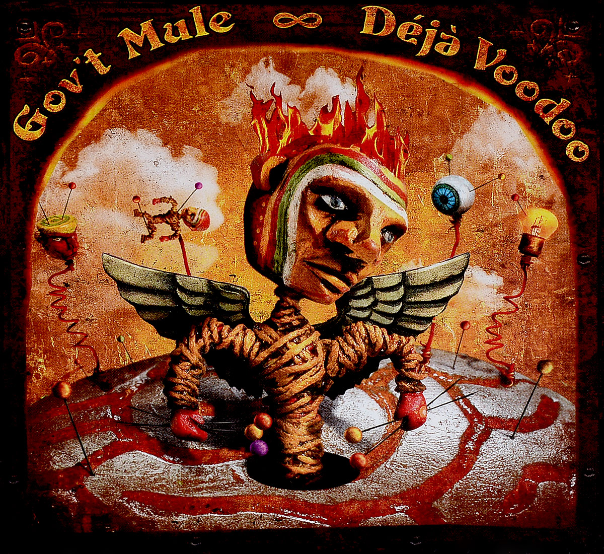 Govt Mule. Deja Voodoo (2 CD) charming cross elastic hair band for women