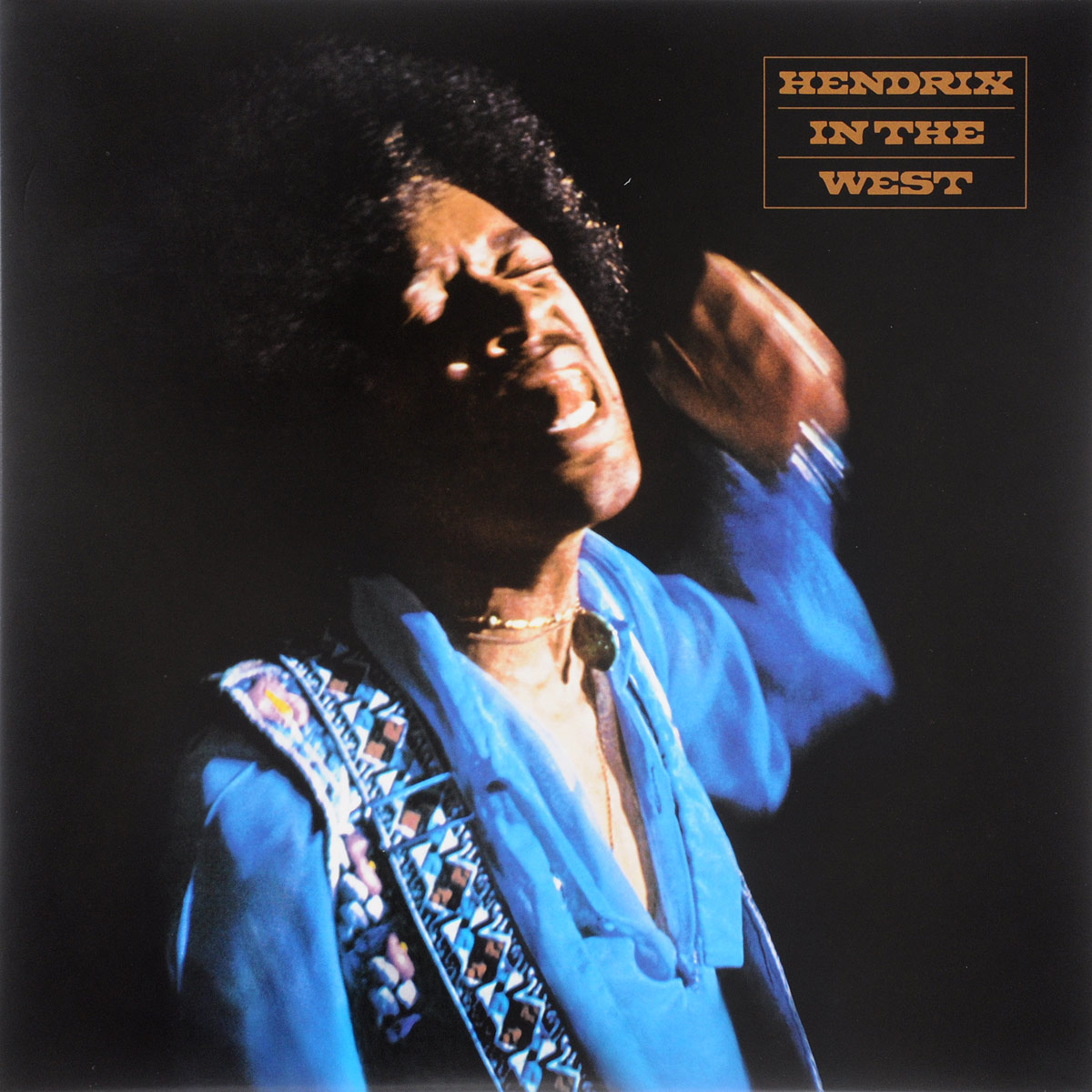 Джими Хендрикс Jimi Hendrix. Hendrix In The West (2 LP) плектр dunlop jimi hendrix 12 medium
