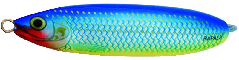 Блесна Rapala, незацепляйка, длина 6 см, вес 10 г. RMS06-BSH