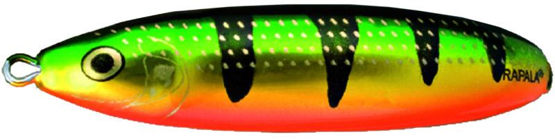 Блесна Rapala, незацепляйка, длина 8 см, вес 22 г. RMS08-FLP