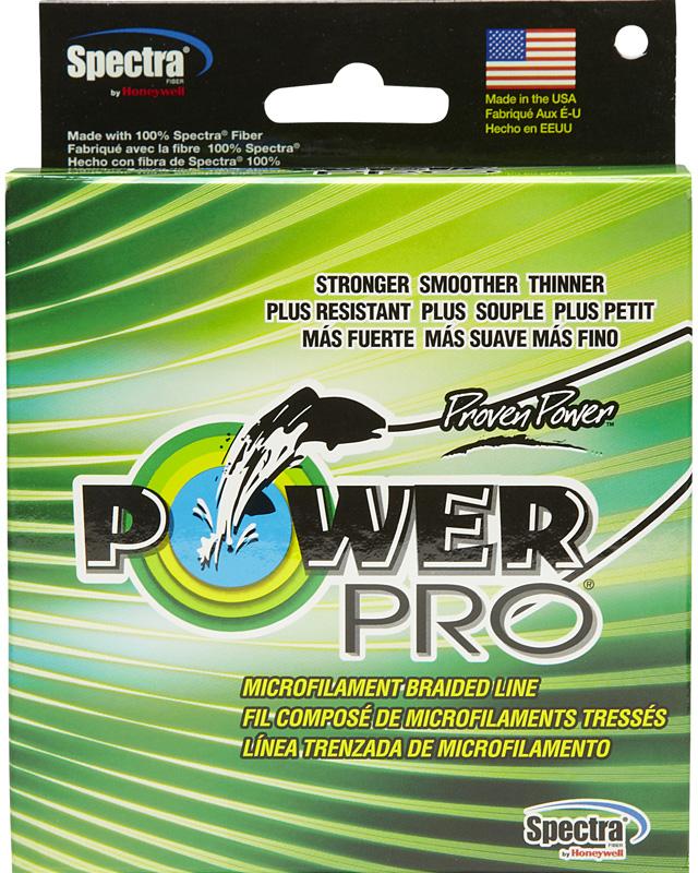 Леска плетеная Power Pro, цвет: зеленый, 135 м, 0,10 мм, 5 кг леска плетеная power pro цвет желтый 135 м 0 23 мм 15 кг