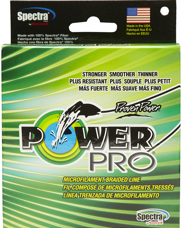 Леска плетеная Power Pro, цвет: зеленый, 135 м, 0,19 мм, 13 кг