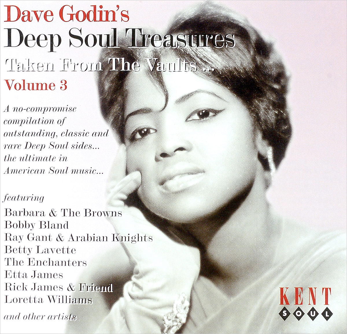 Dave Godin's Deep Soul Treasures: Taken From Our Vaults Volume 3 dave godin s deep soul treasures taken from the vaults volume 1