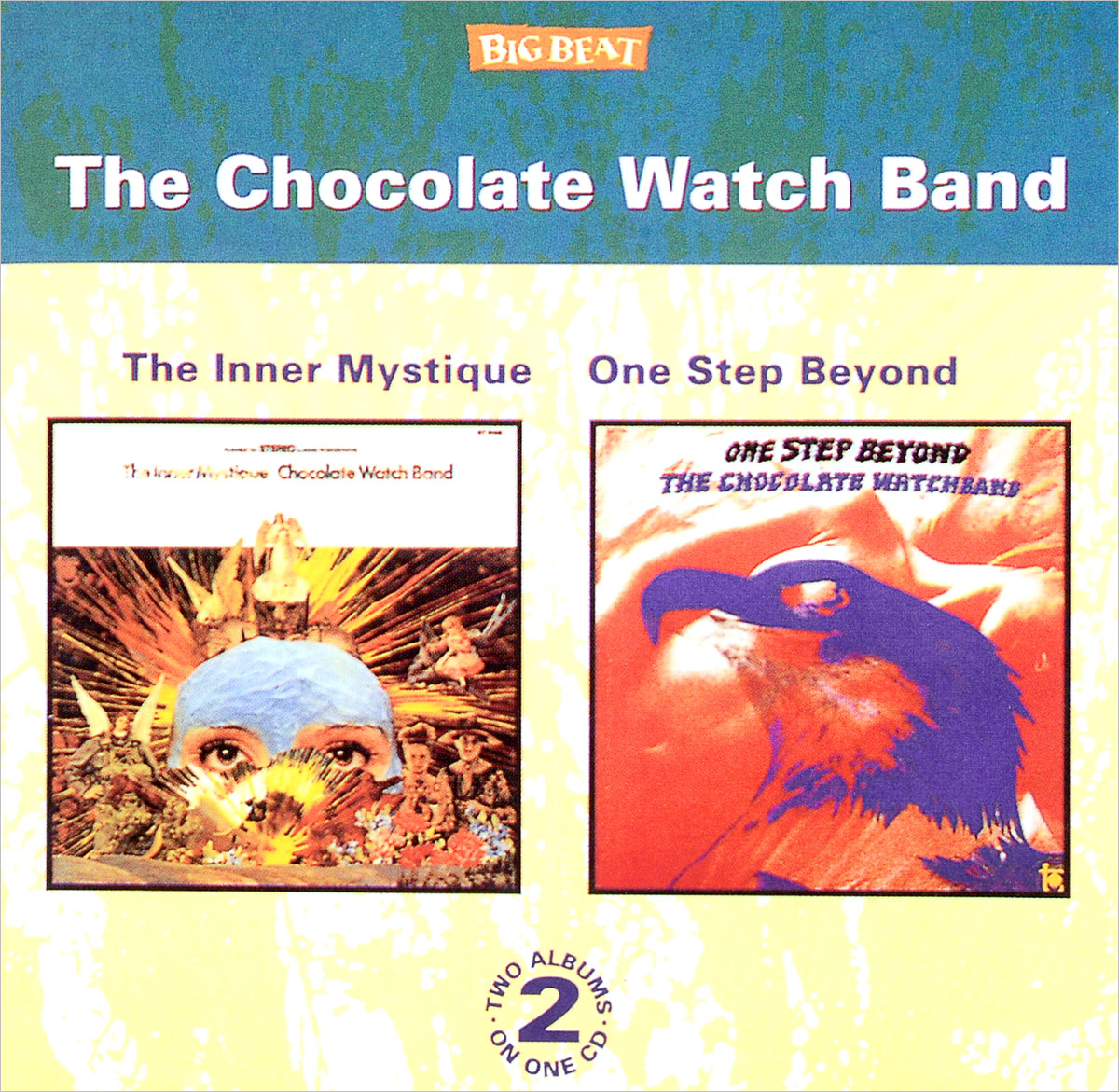 The Chocolate Watch Band The Chocolate Watch Band. The Inner Mystique/One Step Beyond womage 1128 3 british flag pattern female quartz watch round dial leather band