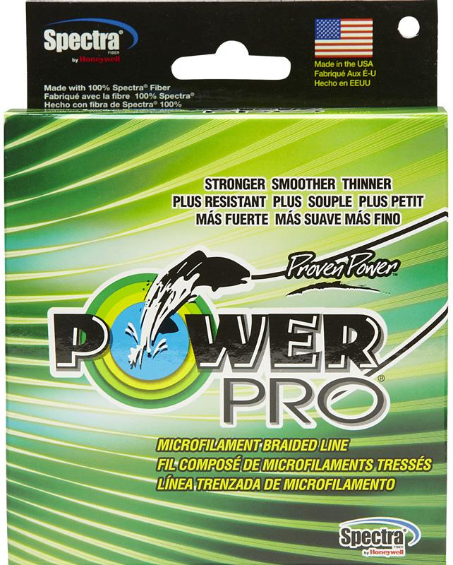 Леска плетеная Power Pro, цвет: зеленый, 92 м, 0,10 мм, 5 кг