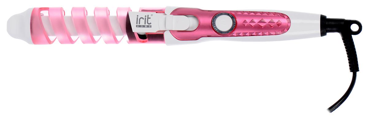 Щипцы для завивки Irit IR-3127, Pink irit ir 3127 щипцы для завивки волос