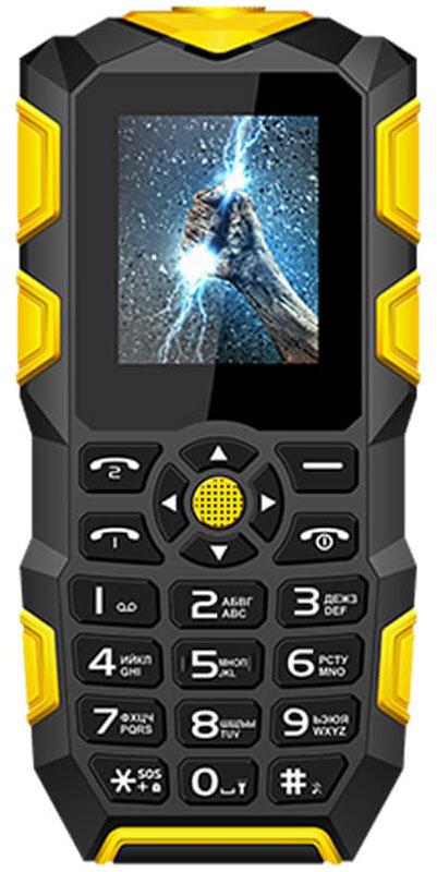 Мобильный телефон Vertex K203, черный