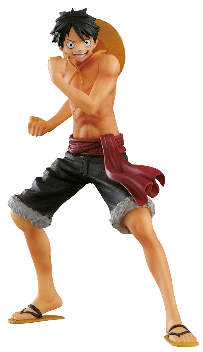 Bandai Фигурка One Piece The Naked Body Calendar Monkey D Luffy B цена и фото