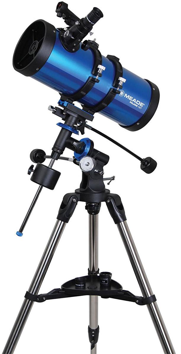 лучшая цена Meade Polaris 127 мм экваториальный телескоп-рефлектор
