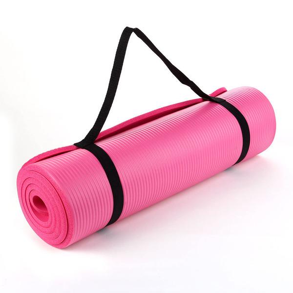 Гимнастический коврик Hawk 183Х61Х1,5 СМ. (розовый) R18128 цена
