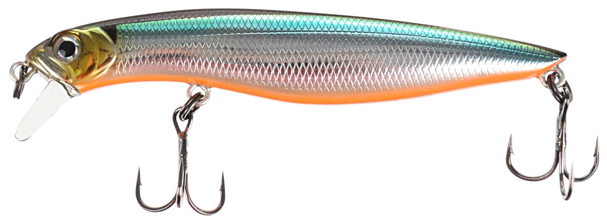 Воблер Tsuribito Dead Minnow SS, цвет 504, 90 мм приманка для рыбы tsuribito jackson рачок цвет розовый 5 8 см 8 шт