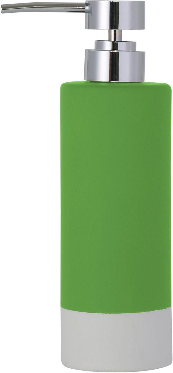 """Диспенсер для мыла Axentia """"Florenz"""", цвет: зеленый"""