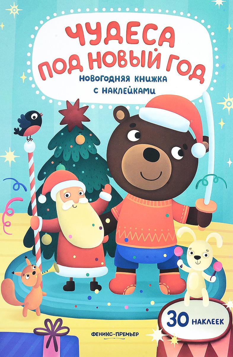 Ю. Разумовская Чудеса под Новый год. книжка с наклейками
