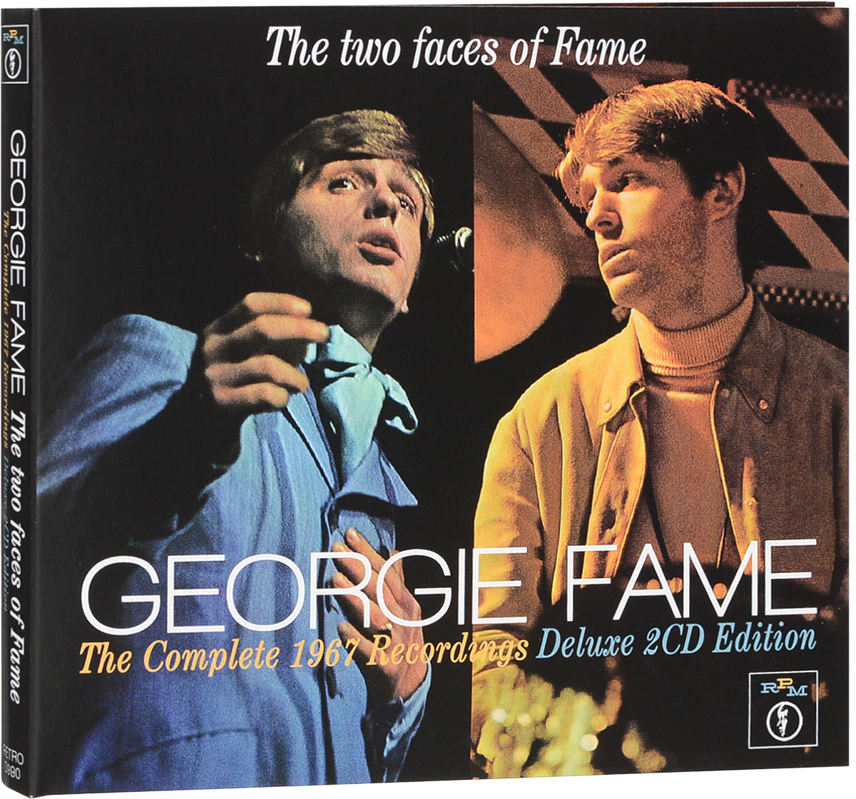 лучшая цена Джорджи Фэйм Georgie Fame. The Two Faces Of Fame: The Complete 1967 Recordings (2 CD)
