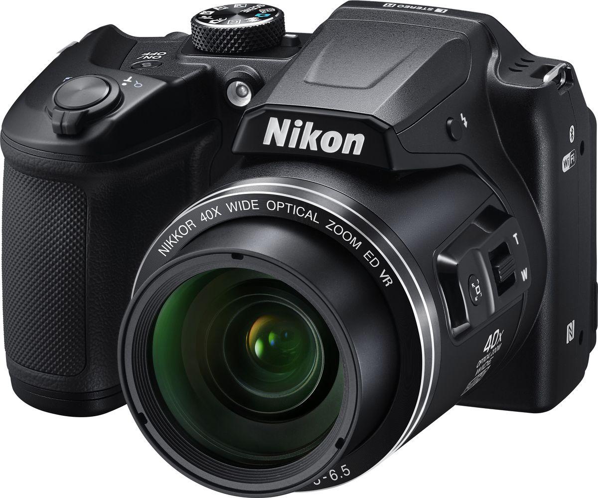 Компактный фотоаппарат Nikon Coolpix B500, Black