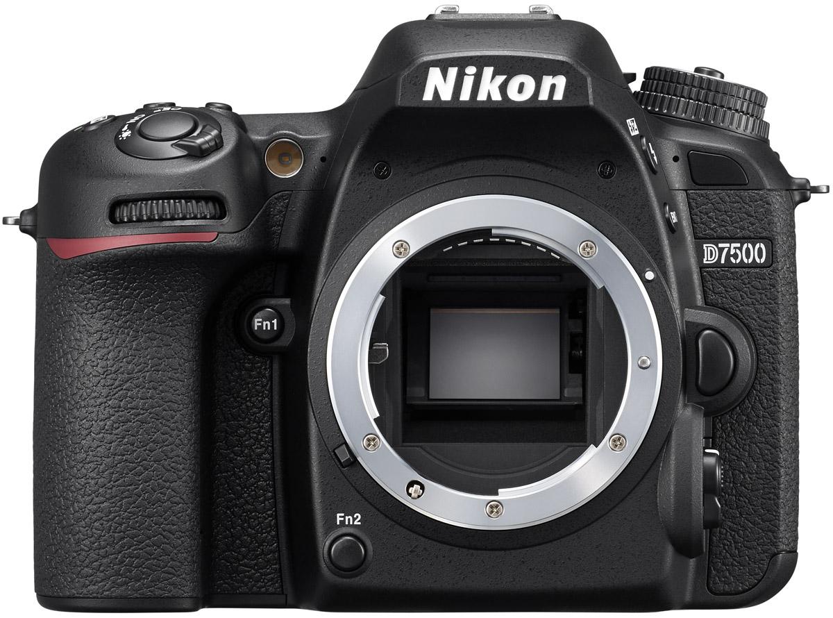 Nikon D7500 Body, Black цифровая зеркальная фотокамера