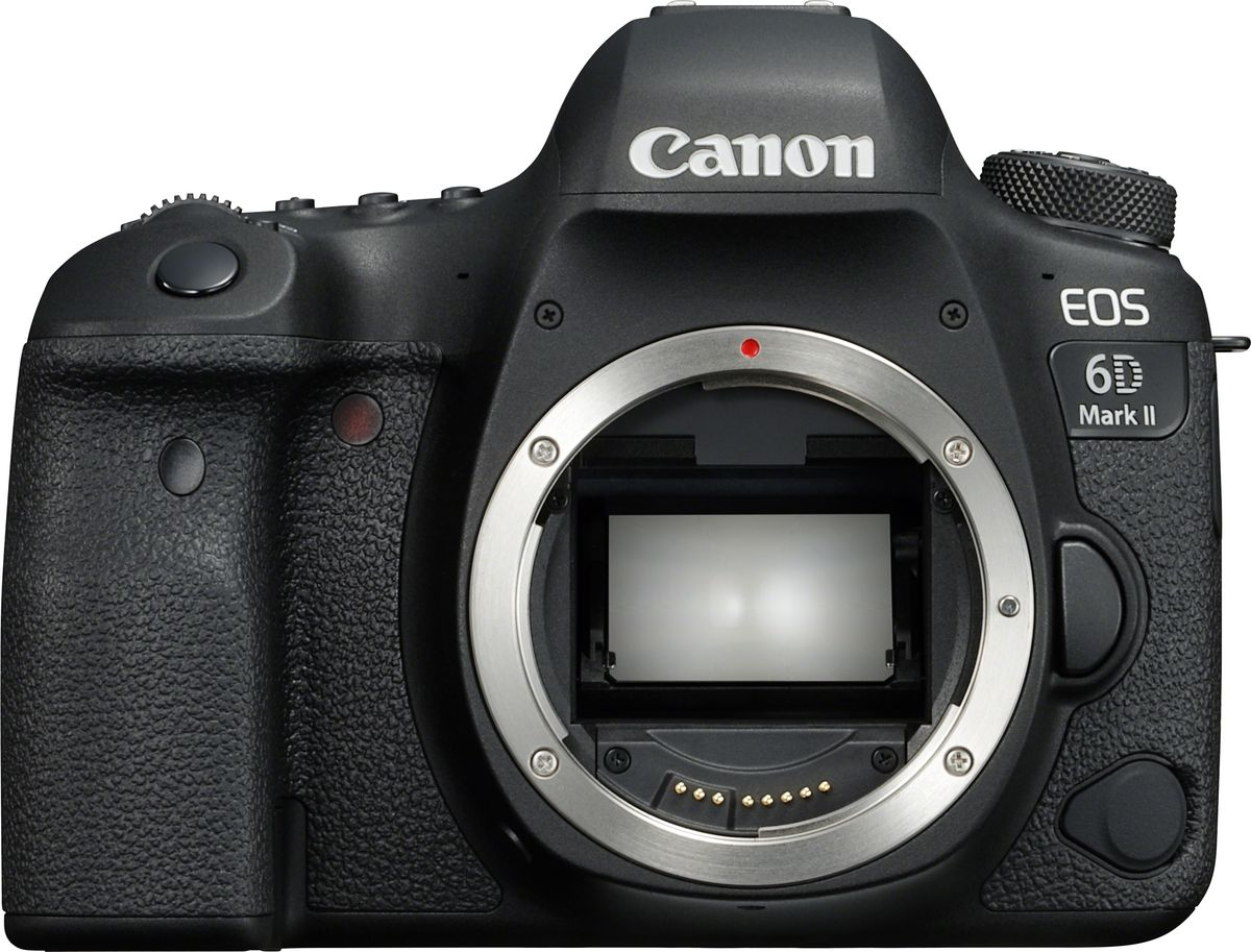 Зеркальный фотоаппарат Canon EOS 6D Mark II Body, Black