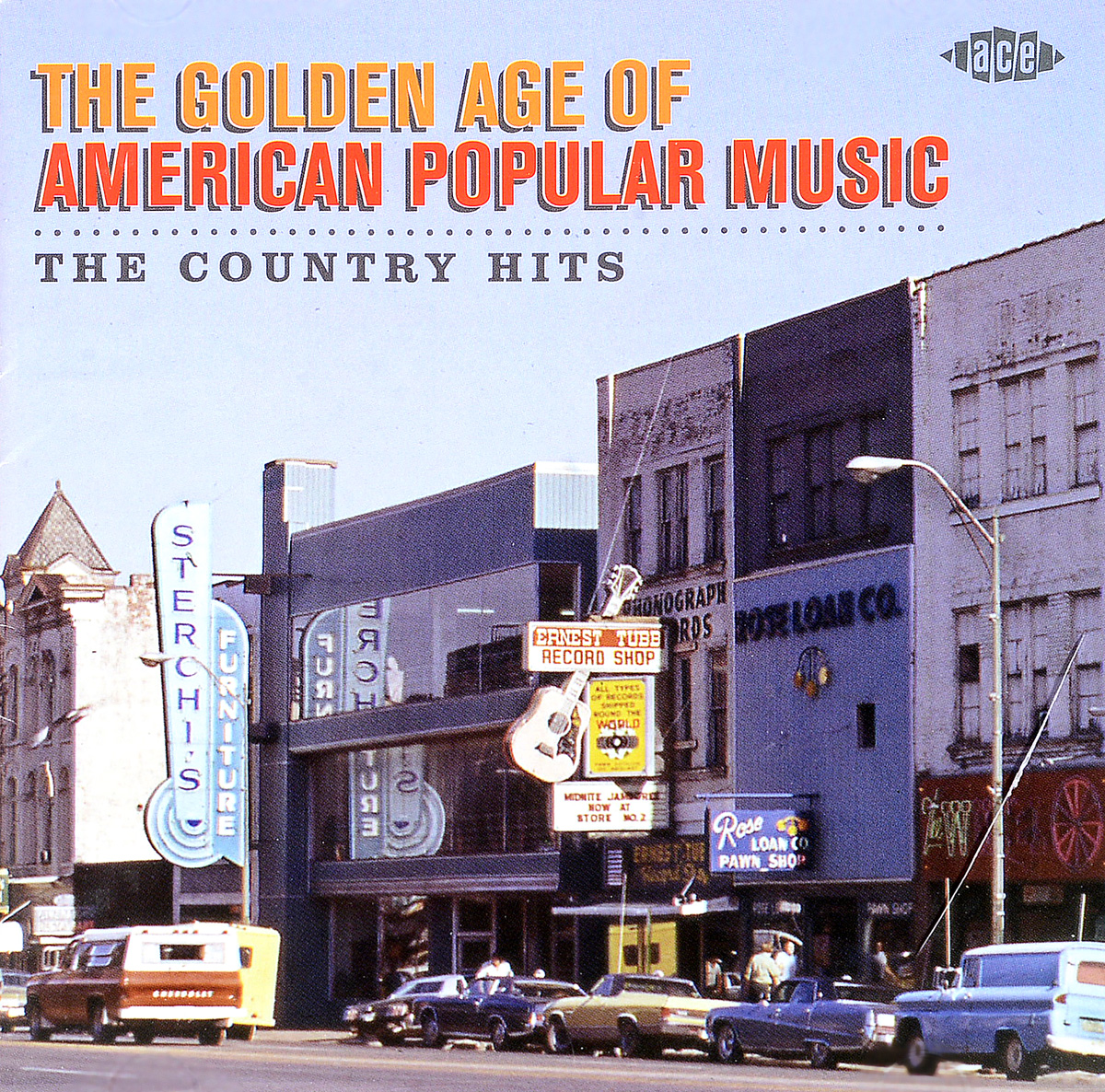 лучшая цена The Golden Age Of American Popular Music - The Country Hits