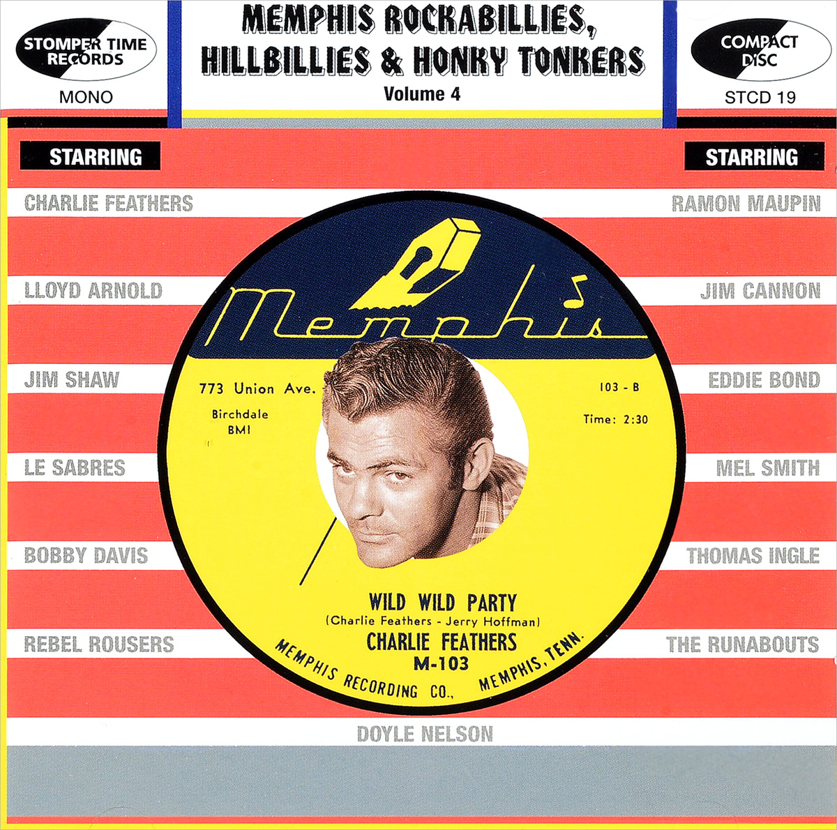 Memphis Rockabillies, Hillbillies & Honky Tonkers. Volume 4: Memphis Records (4 CD) thunderbolts volume 4