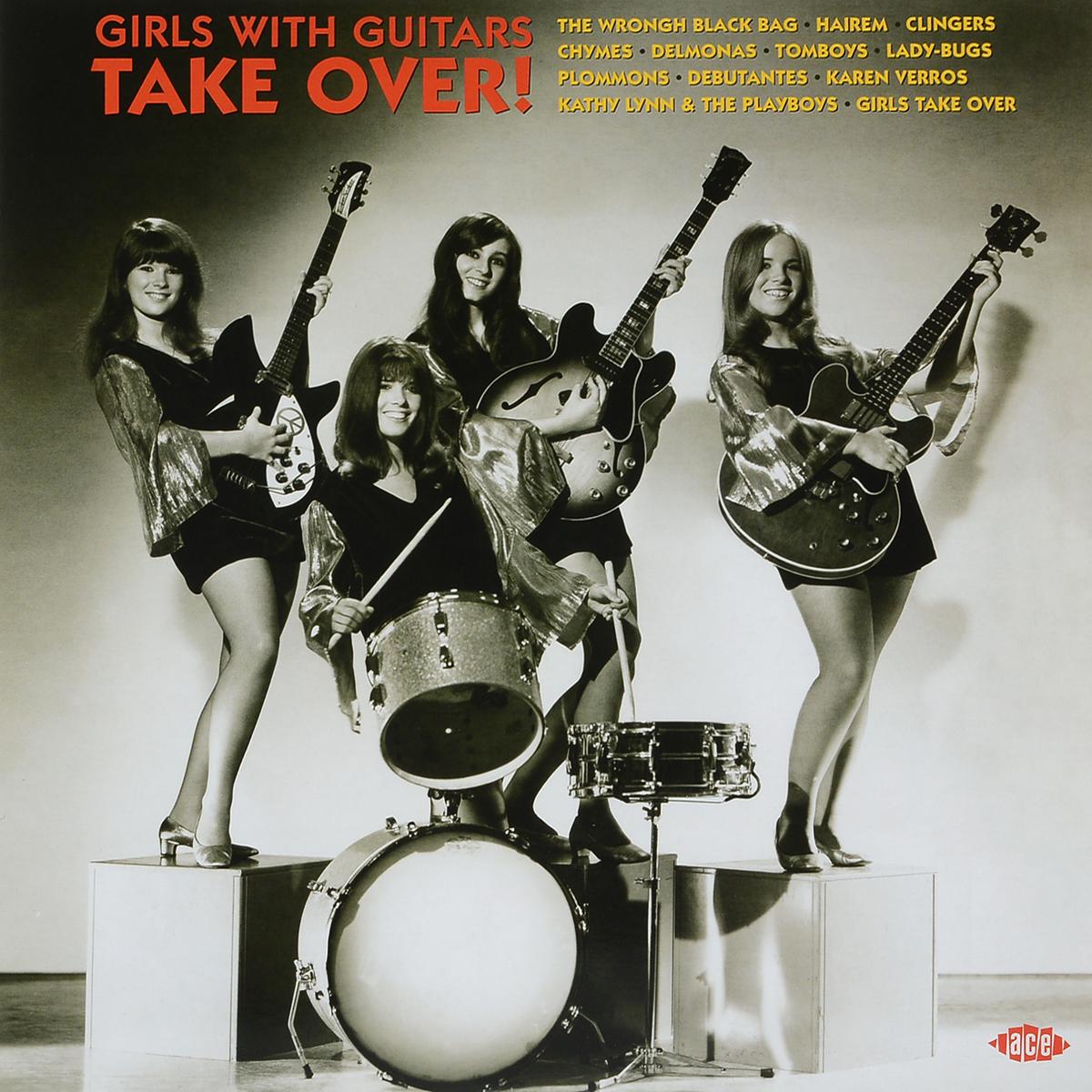 Girls With Guitars Take Over (LP) футболка print bar take over